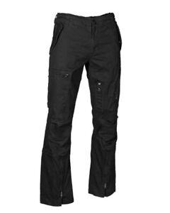 """Fliegerhose Cotton Vintage """"Straight Cut"""" schwarz, Outdoor, Military   -NEU-"""