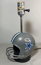 Dallas Cowboys Football Helmet Lamp Pro Sports Marketing Made in USA 1973 Works