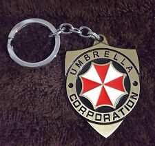RESIDENT EVIL KEYCHAIN, UMBRELLA CORPORATION, BRONZE, CHRISTMAS STOCKING STUFFER