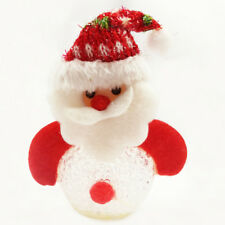 Lovely Snowman Christmas tree Decoration kids Doll Ornaments Plush Pendant Toy