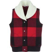 New Women's Woolrich Giant Buffalo Plaid Vest Jacket $129 MSRP Size L