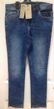 M&S Boys Blue Jeans Age 13-14, Short Length NEW