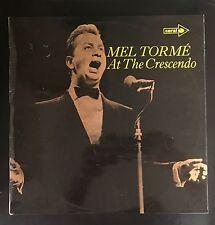 Mel TORME at the crescendo UK 1970 LP MCA Rec