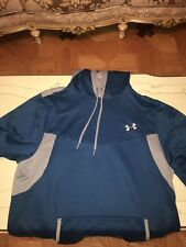 Under Armor Hoodie Blue Gray Two Tone Great Condition Catalyst