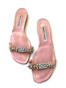 Manolo Blahnik Flats Sandals Size 39