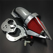 Chrome Cone Spike Air Cleaner for Kawasaki Vulcan 1500 1600 Classic 2000-2012