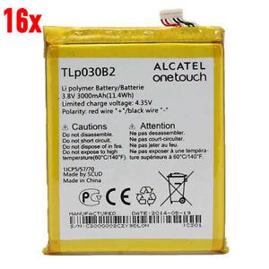 16x Alcatel TLp030B2 Akku  3,8V Li-Polymer POP S7 Y855 Vodafone OT-985 OT-985N