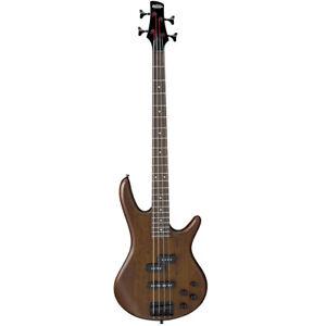 Ibanez Gio GSR200 BWNF 4 String Electric Bass Guitar   Flat Walnut