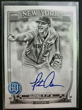 2020 Topps Gypsy Queen Pete Alonso Black & White Parallel Autograph Card /50