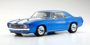 Kyosho FAZER MK2 Chevy Camaro Z28 1969 1:10 ReadySet 34418T1B Vintage RC-Car
