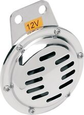 """Chrome 4"""" Horn for Most Motorcycle Harley Applications (12 V - 0711MC)"""