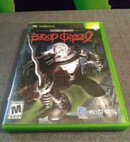 Blood Omen 2 Xbox CIB W/Manual Microsoft OG Rare Game Complete Tested Working