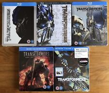 Steelbook Transformers 1-5 Collection UK Blu-Ray (1/3/4/5 NEW/SEALED 2 Used)