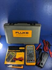 Fluke MD88 Matco Tools Automotive Meter, Excellent, Screen Protector, Hard Case