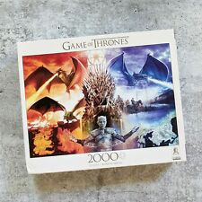 Buffalo Games GAME OF THRONES: FIRE AND ICE 2000 piece puzzle HBO licensed READ