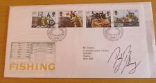 """FDC (First Day Cover) Signed David Bellamy, """"Naturalist"""""""