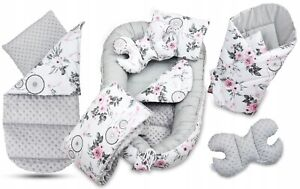 Baby 6pc Double-sided Soft Cocoon Infant Sleep Nest Bed Cushion DREAM CATCHER
