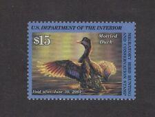RW67 - Federal Duck Stamp. Single MNH. OG.  #02 RW67