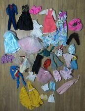 32 piece Lot! Colorful Barbie Doll & Barbie Friends Cousins Sized Dresses Tops