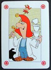 1 x Joker playing card single swap Tetley Tea R AT691