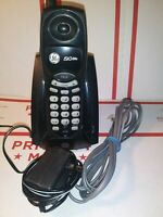 Ge 27923GE2-C 2.4 GhZ Home Cordless Telephone Easy Use Phone Black With power