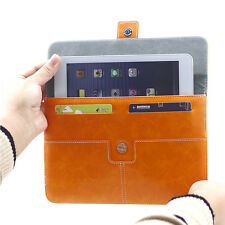 HOT PU Leather Card Slot Pouch Sleeve Bag Case Cover For 9.7~10.1 inch Tablet PC
