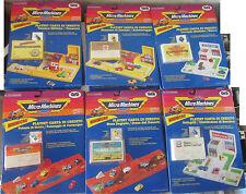 Mini Micro Machines 6 Playset Carta di Credito COMPLETA GIG GALOOB SPESE GRATIS