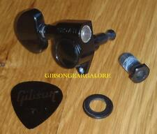 Gibson Les Paul Tuner Grover Relic Black Peg Guitar Parts SG Custom ES Tuning HP