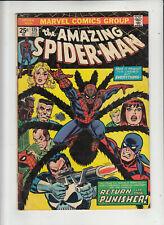 The Amazing Spider-Man #135 (Marvel 1974) 2nd Punisher! VG