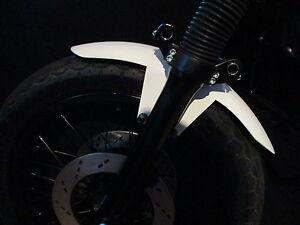 Cafe Racer Kotflügel Fender Schutzblech Universal 13cm Breit,18-21Zoll