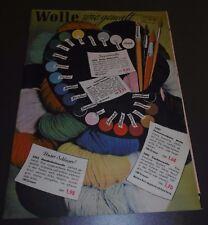 versandhaus katalog heft alt wolle wie gemalt mode wäsche schöpflin haagen 1953