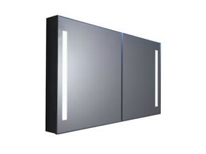 Rigel Double Door Mirror Cabinet 700x900