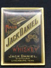 alte Anstecknadel Pin Anteck Nadel Jack Daniels Whiskey Old Mash [20-1-Box 2