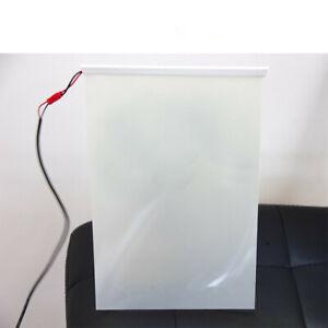 A4 White PDLC Smart Film Electrochromic Film Switchable Glass Vinyl 210x297mm