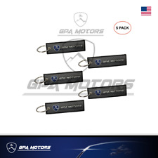 5 pcs Key Chain both sides embroidered GPA MOTORS for ATV UTV and Motorcycles