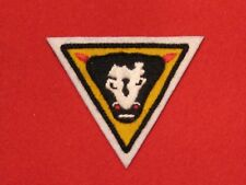 BRITISH ARMY WW2 79TH ARMOURED DIVISION FORMATION BADGE BULLS HEAD EMBROIDERED