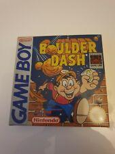 Nintendo Gameboy Boulder Dash Neuwertig Game Boy PAL NES SNES