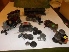 Marx Train Parts lot of Motors, Wheels, Gears and a 999 Body