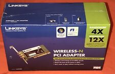 LINKSYS WIRELESS-N PCI ADAPTER MODEL WMP300N NEW FACTORY SEALED BOX