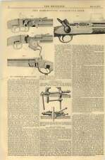 1867 Competitive Breech Loaders Burton Gun Henry And Selwyn Gun