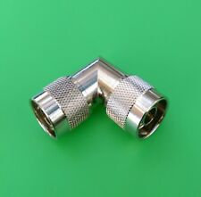 1 PC USA Seller Right Angle N Male to N Male Connector