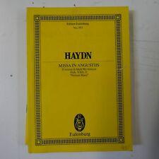 mini pocket score HAYDN nelson mass , eulenberg 995 , unmarked