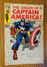Captain America #109  (Marvel Jan 1969, Origin Retold) *BEAUTIFUL COPY*!