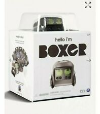 Boxer Interactive AI Robot Toy with Personality and Emotions - Black