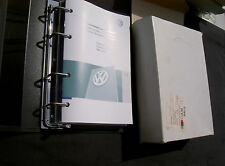 Nuovo di Zecca VW GOLF MANUALE MANUALE LIBRO pack wallet 221557GOL20