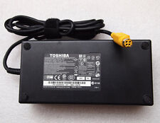 Original Genuine OEM 180W AC Adapter for Toshiba Qosmio X505-SP8019M,X505-Q8100X