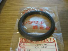 KAWASAKI NOS FRONT HUB INNER OIL SEAL S1 S2 Z400 A1 A7 KZ400  92050-017