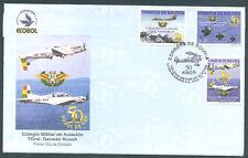 BOLIVIA AVIATION 2002 FDC VF