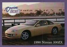 1990 Nissan 300ZX, Japan, Dream Machines Cars, Trading Card, Auto - Not Postcard