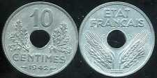10 centimes 1942 grand  module   ( TTB )  ( bis )